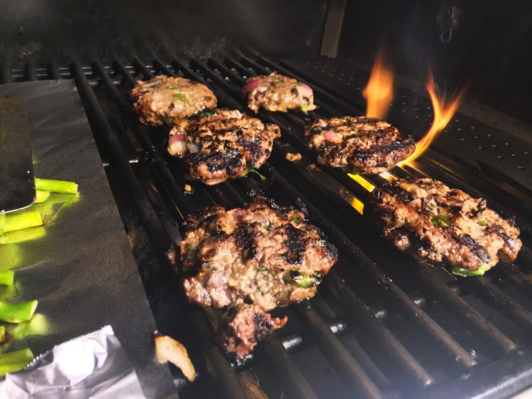 Dieting Deliciously grilling patties